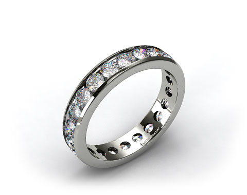 Ladies 2.00ctw* Channel Set Diamond Eternity Ring